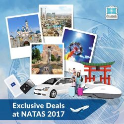 [Changi Recommends] It's day 2 at NATAS 2017! Look for us at Singapore Expo Hall 8, Booth 8H07 this weekend to