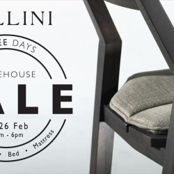 [Cellini] Don't miss out on our three-day Warehouse Sale happening this 24-26 February! Enjoy discounts on our sofa,