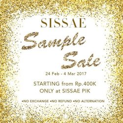 [Sissae] Sissae 1st sample sale ✨ don't miss it! Only at Sissae Headquarter 💋