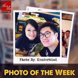 [CHICKEN UP] Our Photo of the Week is in line with the Valentines Week that was!It always feels good to see