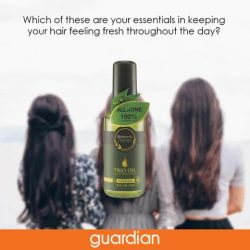 [Guardian] Do you have a favourite product to keep your hair looking fresh throughout the day? Find the products on our