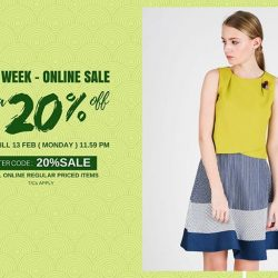 [MOSS] Ready for the Online Sale!Enter code : 20%SALE To enjoy extra 20% off* on all online regular priced item