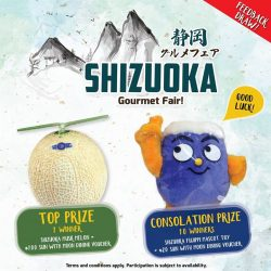 [Sun with Moon Japanese Dining & Café] We have some goodies from Shizuoka Prefecture to share!Starting from today, every Set Meal order from our Shizuoka & Nagoya