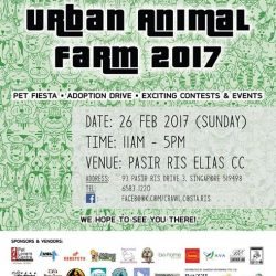 [Pet Lovers Centre Singapore] Welcome to Urban Animal Farm 2017!