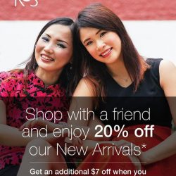 [Team Salon] Sharing is caring! Shop with a friend and enjoy 20% off our New Arrivals*. Get an additional $7 off when