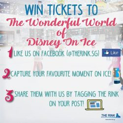 [THE RINK] If you're a fan of Disney On Ice, you're in luck! We're rewarding 10 skaters with a