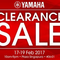[YAMAHA MUSIC SQUARE] Yamaha Clearance Sale! Up to 80% OFF on Guitars, Drums, Amplifiers, Synthesizers, Brass, Winds, Strings, Portable Keyboards, Pro Audio, Books,