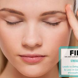 [FIL Skin & Body Intelligence] When you're stressed, your brain signals for cortisol, a stress hormone, to be produced. Cortisol causes your oil glands