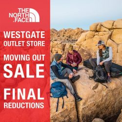 [The North Face] It's sad but it's true, we will be closing our North Face Westgate Outlet store this Sunday, 19