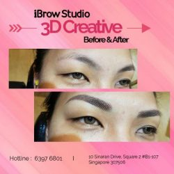 [iBrow Studio] 3D Creative eyebrows to show you the end results! The only way to hassle free eyebrow drawing, you will save