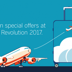 [American Express] Take advantage of amazing deals for your next getaway at Travel Revolution 2017 and redeem premium Samsonite products with a