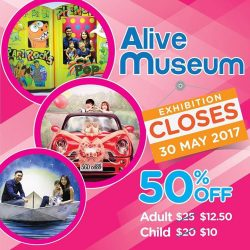[Alive Museum Singapore] Alive Museum has brought many smiles to locals and tourists alike since we arrived in Singapore.Before we bid farewell