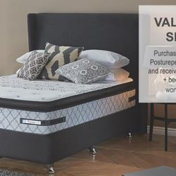 [Sealy Singapore] Valentine's Special! Purchase a Sealy UniCased Posturepedic Enhance mattress in Queen or King-size and receive a Sealy Bed