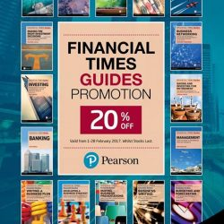 [MPH] Financial Times Guides Promotion20% off Financial Times GuidesPromotion valid from 1 - 28 February 2017 * Whilst Stocks Last#mph #