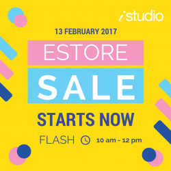 [iStudio] Today's FLASH SALE for your loved ones.. don't miss it again.Shop now with exclusive discounts for: iPhone