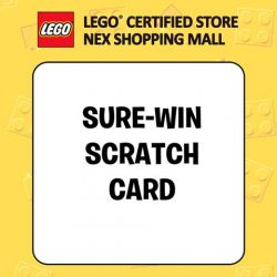 [The Brick Shop] Expect lots of awesome activities and promotions at the Grand Opening of Singapore's eighth LEGO Certified Store @NEX on