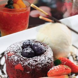 [DANRO Singapore] Celebrate this Valentine's Day at Danro by MOF. Indulge in a lavish, chocolate-infused Red Velvet Lava Cake at $