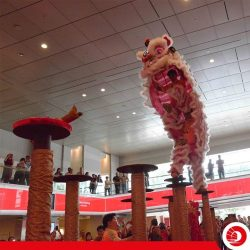 [OCBC ATM] Join us at OCBC Centre on Friday, 3 Feb at 12 pm for a spectacular 'Mei Hua Zhuang' Lion Dance