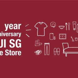[MUJI Singapore] Come celebrate with us as we turn TWO online! Enjoy double the joy with a series of Anniversary Specials and