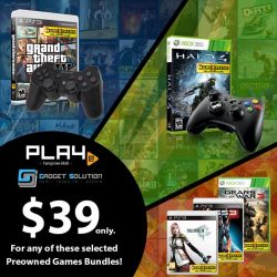 [GAME XTREME] Secondhand PS3/Xbox 360 Promos - While Stocks Last!Pick up the classics from the PS3 and Xbox 360 era at