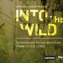 [Natures Collection] We're absolutely thrilled to announce our new adventure with ArtScience Museum, Google, and Lenovo - Into the Wild: An Immersive