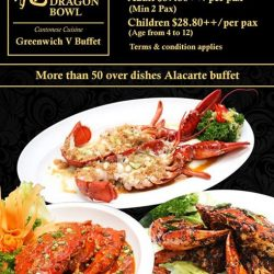 [Dragon Bowl] Dragon Bowl (GREENWICH V) Alacarte Dinner BuffetStarting from 20th Feb 2017 (Monday)*Please Click below for menu: https://www.