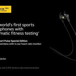 [Stereo] With the new Jabra Sport Pulse Special Edition, you can train even smarter with the world's first sports headphones