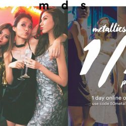 [MDSCollections] A little sparkle goes a long way. Shop 50% off metallics, 24hrs online only. Use code [50metallics]Shop the promo