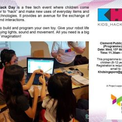 [Clementi Public Library] Kids Hack Day is back at Clementi Public Library! Join us at this free tech event on Wed, 15 March