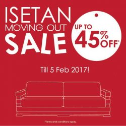 [Scanteak] New year, new house! We're taking our Isetan showroom to another level (L3, to be exact), and are clearing