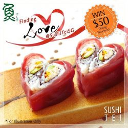 [Sushi Tei] It's the month of Love again, and what better way than to spend quality time with your friends and