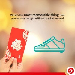 [OCBC ATM] Share your most memorable purchase using red packet money with us in the comments below.The best answers stand a
