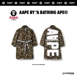 [Chocoolate --- i.t Labels Singapore] Boasting both form and function, camo never goes out of style.Get a free AAPE bathrobe upon a single nett