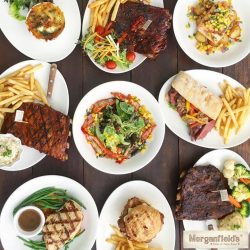 [Morganfield's] You're looking at quick, delicious and satisfying Weekday Set Lunch items that you can't get anywhere but the