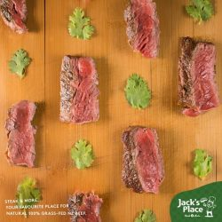 [Jack's Place] Who says tasty steak can't be healthy too?
