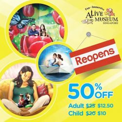 [Alive Museum Singapore] Happy Chap Goh Mei! 元宵节快乐!🏮🎉🎊Our 50% promotion is ending soon, buy it online now at booking.alivemuseum.sg and you