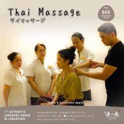 [Yunomori Onsen and Spa] Equipped with techniques developed over thousands of years, our therapists help you balance your essential energies using an ancient mix