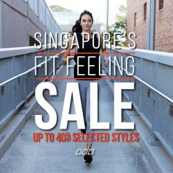 [Lorna Jane] Our Fit Feed sale is still on in store! Come to our showroom at 4 Ann Siang Hill now and