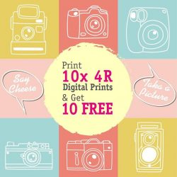 [Harvey Norman] Print 10 4R Digital Prints and get 10 prints free at #HarveyNormanSG #PhotoCentre! Now till 28 February 2017 only, don'