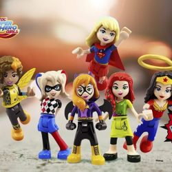 [LEGO] Save the day with our Super Hero Girls! Prepare for battle at the Super Hero High School, go on a