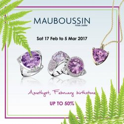 [Mauboussin] Amethyst, February birthstone. Purple reigns this February, for it is the color of Amethyst – the birthstone of the month. Indulge