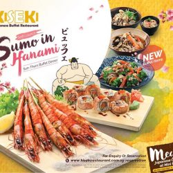 [Kiseki Japanese Buffet Restaurant] Sumo In Hanami promotion will be launched on 16 February 2017 with an array of NEW dishes added to the