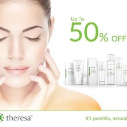 [THERESA BEAUTY] FLASH SALES! Skin care products up tp 50% Off. For limited time only, visit http://theresa.com.sg/products/ or