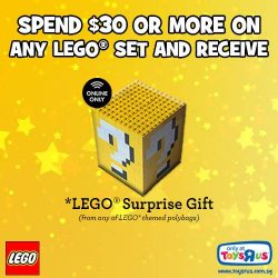 [Babies'R'Us] PSA: FREE SHIPPING ALERT & LEGO OFFERSWe are offering free shipping for orders over $50! Come to our online store