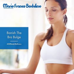 [Marie France Bodyline] Regardless of your cup size, if you wear a bra, chances are you're plagued by the bra bulge woe.
