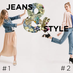 [Promod Singapore] JEANS & STYLE COMPETITION!!!① Like this post. ② Comment and tell us which outfit you prefer Outfit #1 - The lightness of a