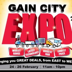 [Gain City] There you go, folks! As seen on SINGPromos! The Gain City Expo will be happening from 24 February – 26 February