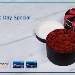 [Citibank ATM] Surprise your loved one with flowers from FarEastFlora.com this Valentine's Day. Get up to 28% off on selected