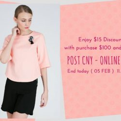 [MOSS] HURRY! $15 Off with purchase $100 and above POST CNY - ONLINE SALE END SOON! ( End today ( 05 FEB )  11.59