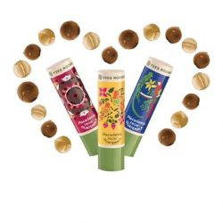 [Yves Rocher] Moisturization, gentleness, comfort…. Long live to the Nourishing Macadamia Lip Balm! Hurry up, these limited edition designs are free with $
